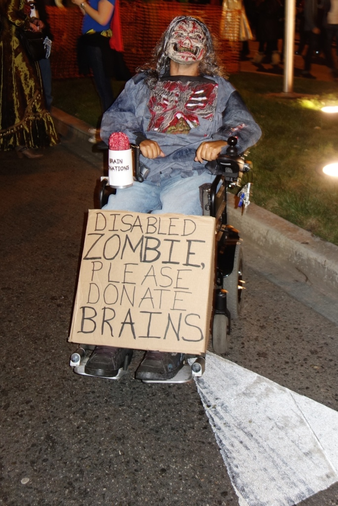Disabled Zombie
