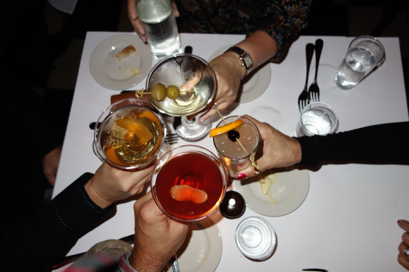 Minetta Tavern cocktails