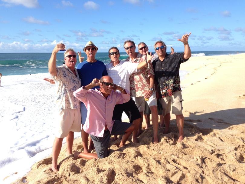 The Dudes on Ke Iki Beach
