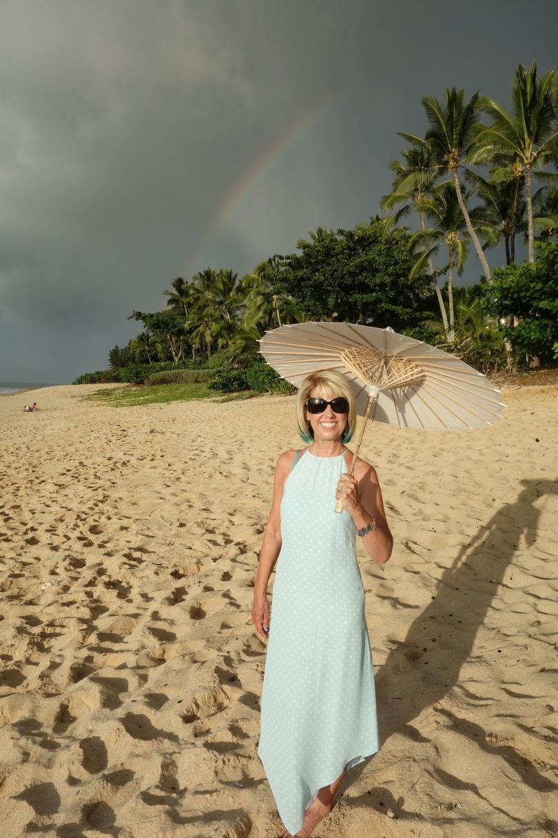North Shore Rainbow on Ke Iki Beach