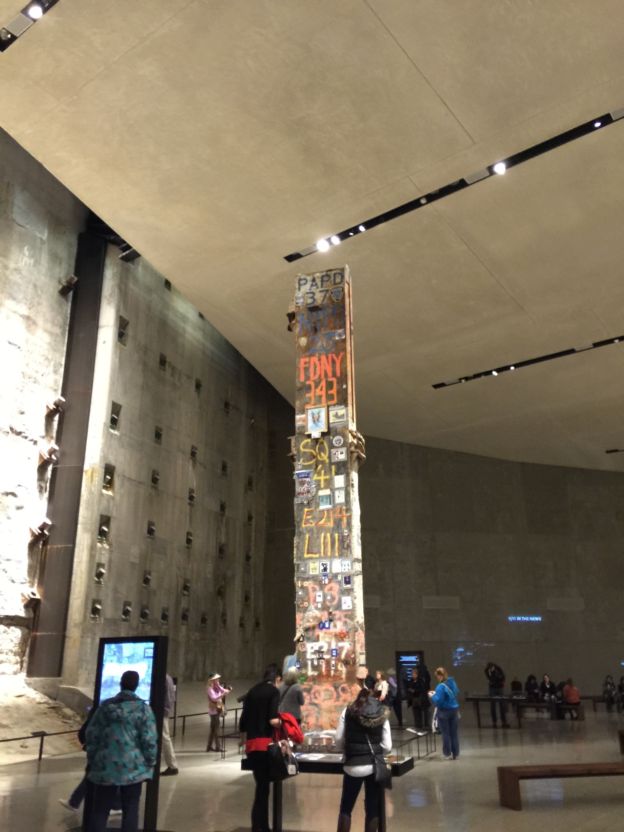 911 Museum, a remaining structural beam