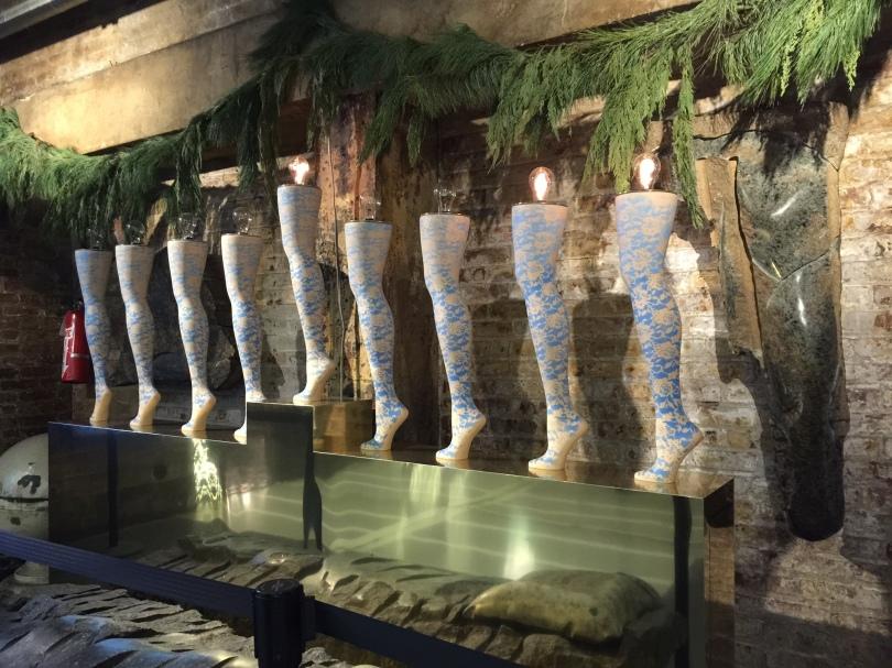 Hanukkah Stockings in Chelsea Market