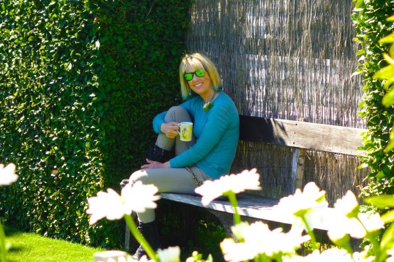 Tea Time in the English Garden...Heaven