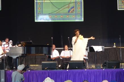 Irma Thomas in the Gospel Tent
