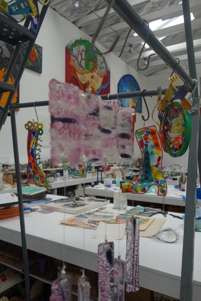 Cheri's studio