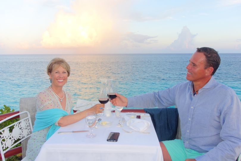 Dining on the Longtail Terrace