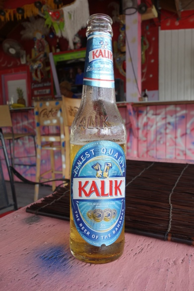 Kalik, the local beer