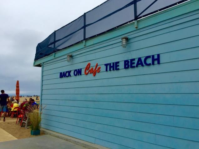 Back on The Beach Cafe Santa Monica