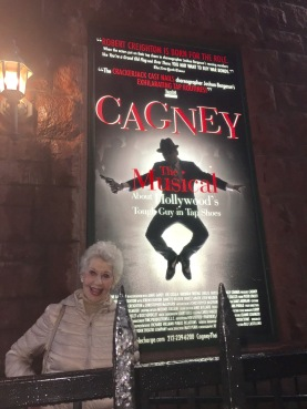 Cagney with my Mom