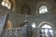 Inside Taj Mahal India