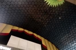 film reel ceiling