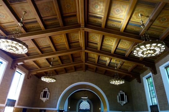 steel ceiling