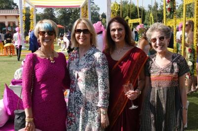 Ladies at Mehendi