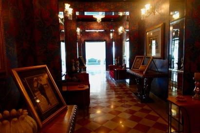 Entryway at Raj Mahal Palace Hotel Jaipur India