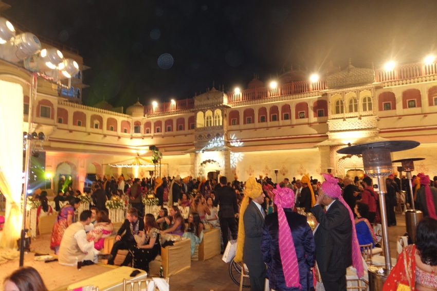 Wedding reception Jaipur City Palace