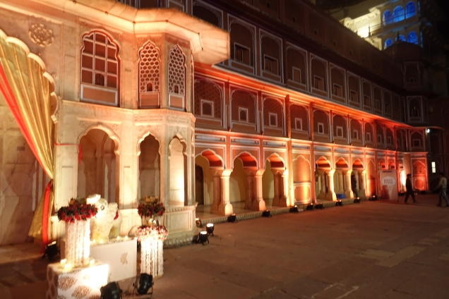 Jaipur City Palace wedding