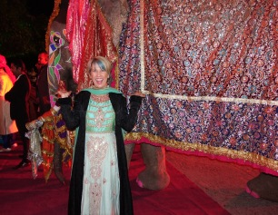 Guest by Groom's elephant wedding at Jaipur City Palace
