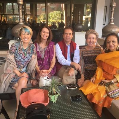 Guests at Haldi ceremony