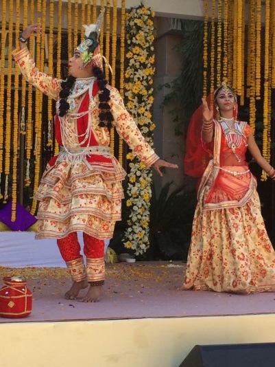 Dancers at Haldi