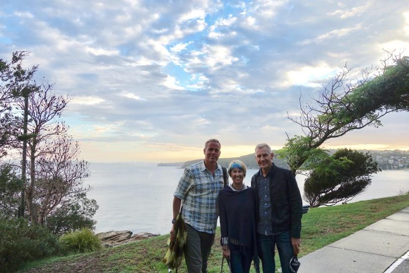 Australia friends at Sunset Manly Beach