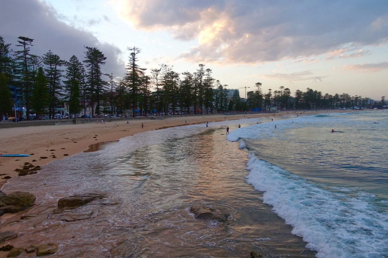 Sunset Manly Beach, Australia