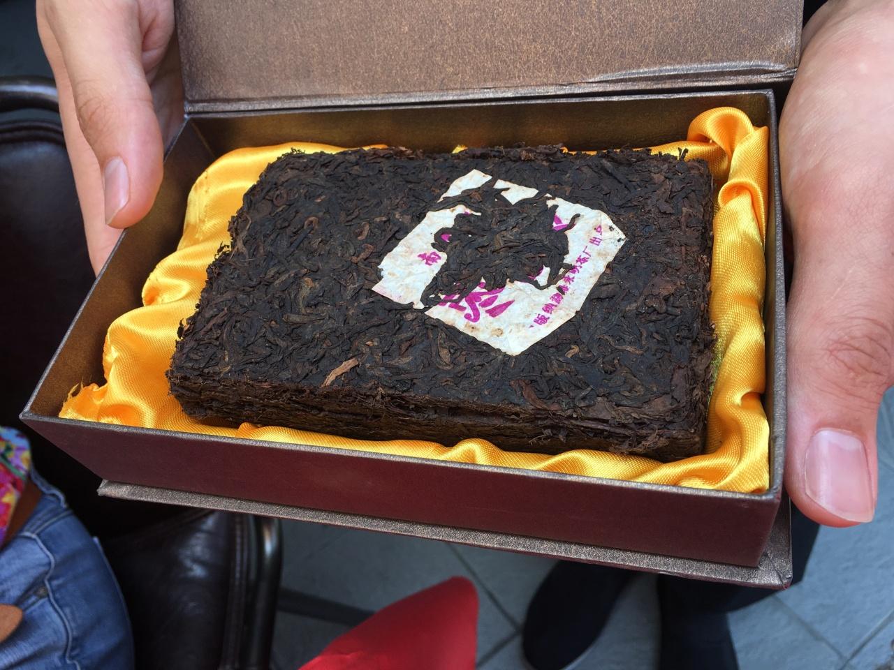 Pu-Erh tea cake