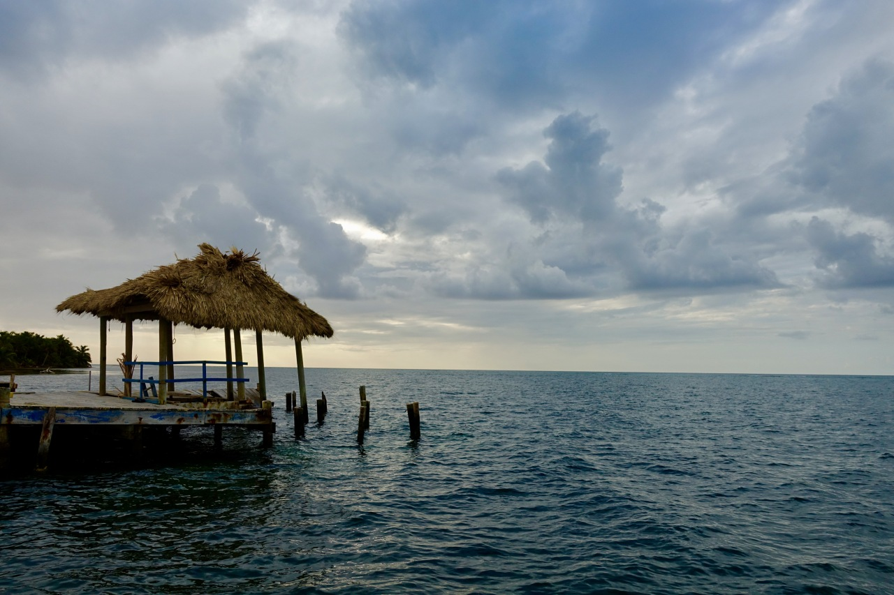 Dock in Belize