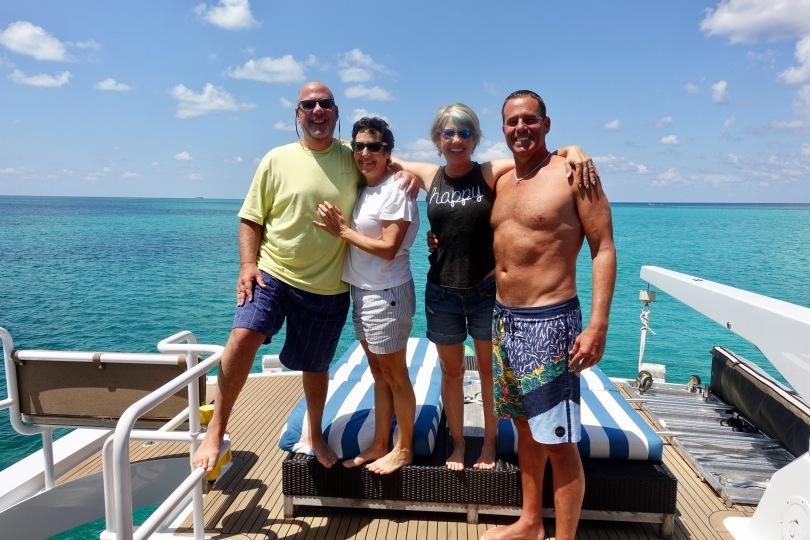 Yacht in Belize
