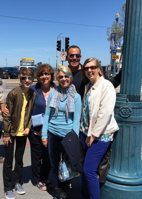 Family on Rick Evans Architecture Tour