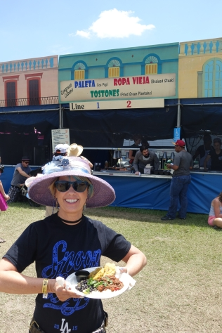 Cuban food Jazzfest New Orleans