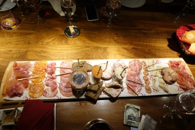 foie gras platter from R'Evolution
