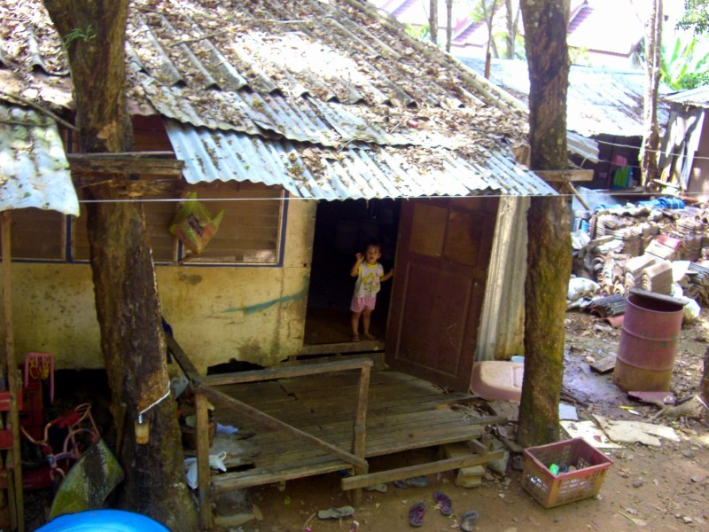 A Thai village home