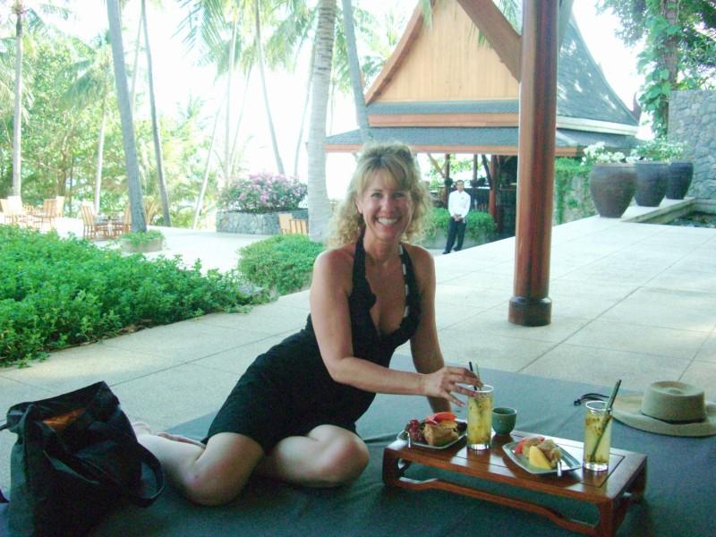 snack time in Phuket