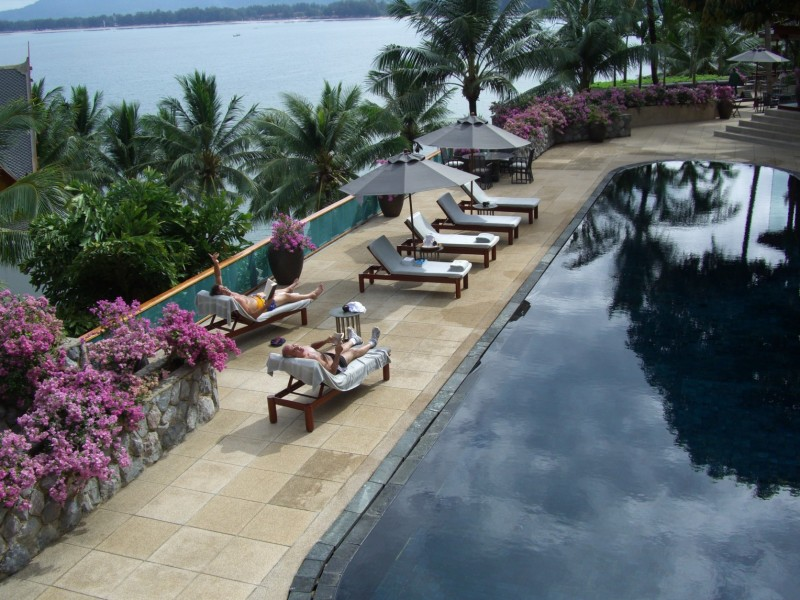 Pool in Phuket Thailand
