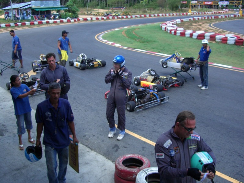 Go Carts in Thailand