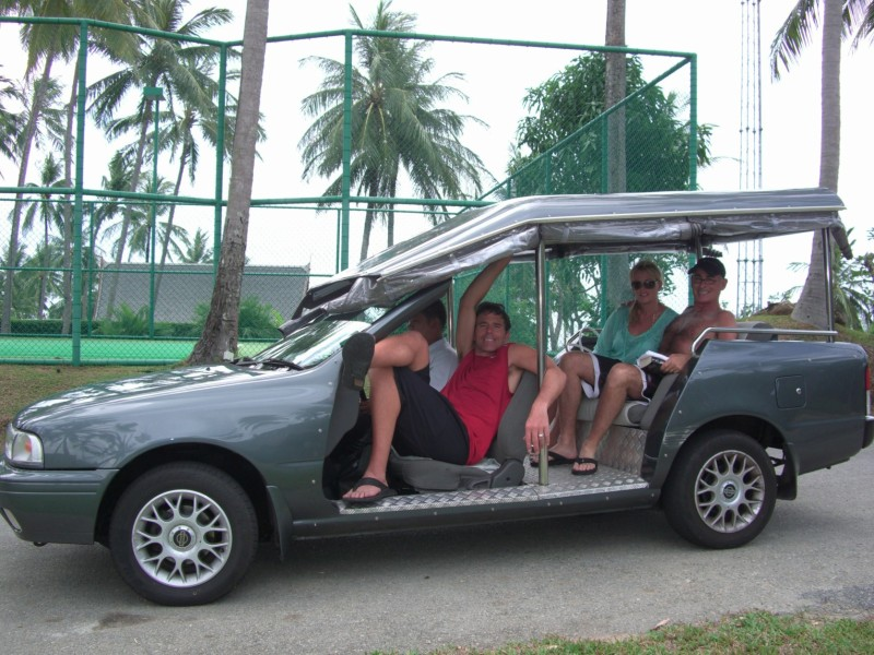 Our transportation in Thailand