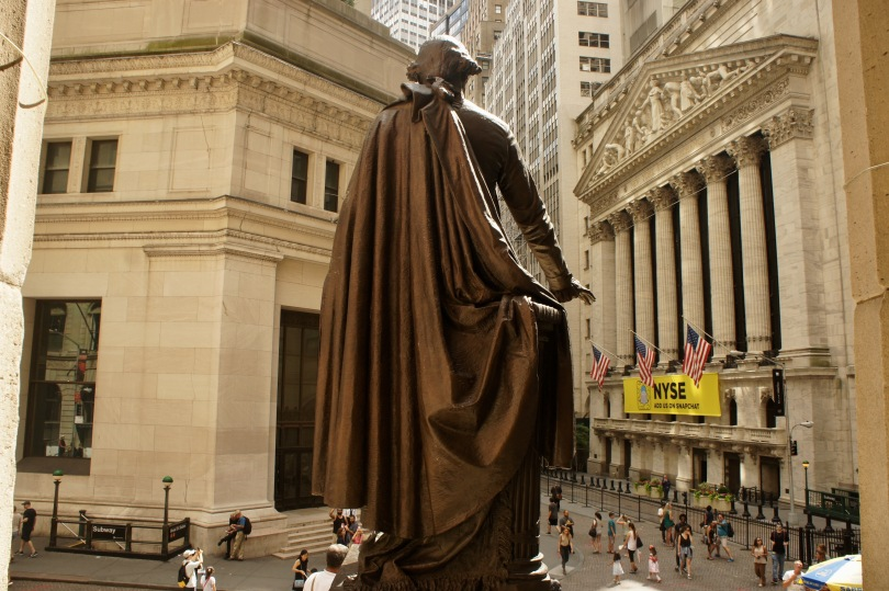 Washington watches over Wall Street
