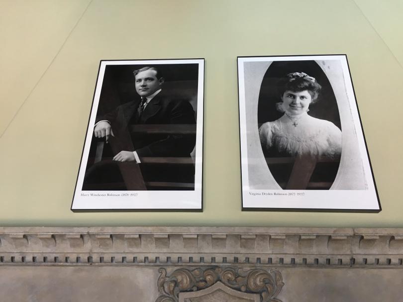 Harry and Virginia Robinson