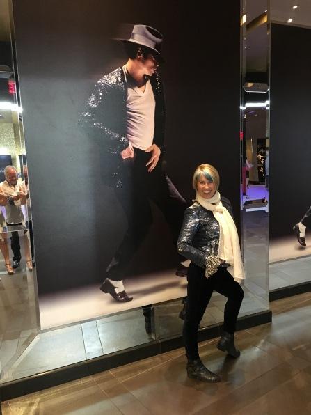 In Las Vegas at Cirque Du Soleil's Michael Jackson One