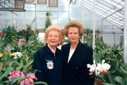 Margaret Thatcher in Green House