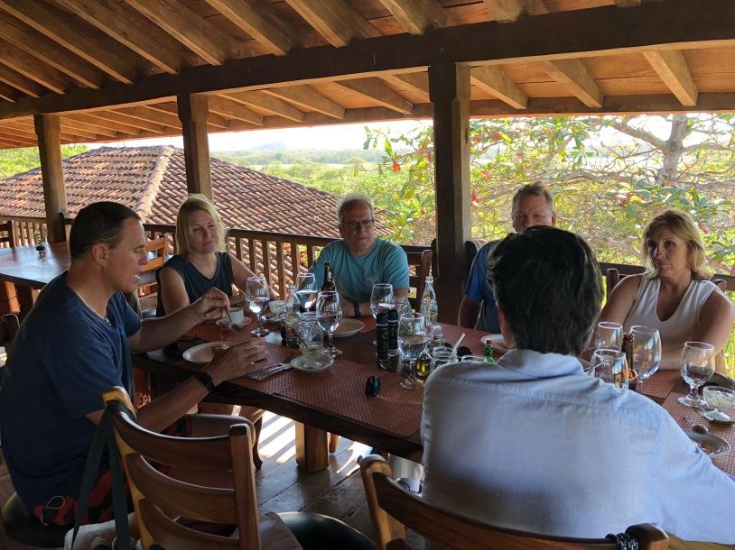 Lunch at Hacienda El Viejo Costa Rico