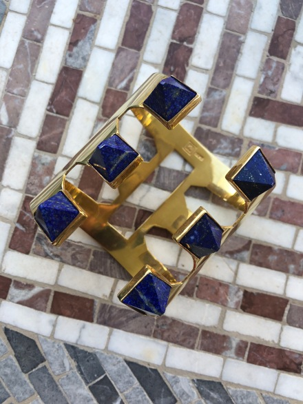 """Lapis bracelet from DOCE 18 Concept House """"The Collection"""""""