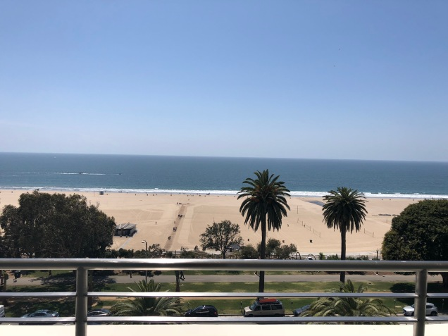 View of Santa Monica, CA