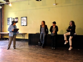 Walking tour in the Rapp Saloon